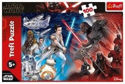Puzzle 100 Star Wars Jasne vs ciemna strona Mocy
