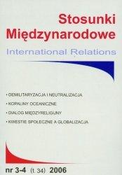 Stosunki Międzynarodowe 3-4/2006