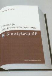 Koncepcja aktu prawa wewnętrznego Konstytucji RP