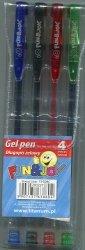 Długopis żelowy Fun & Joy 4 kolory