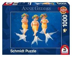 Puzzle Anne Geddes Syreni taniec 1000
