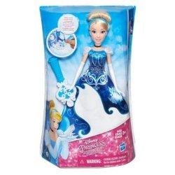 DISNEY Princess Księżniczka w magicznej sukience Kopciuszek