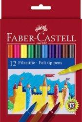 Flamastry Faber-Castell Zamek 12 kolorów