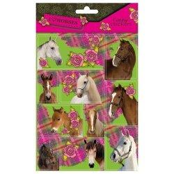 Nalepki Funny Konie 25 sztuk mix