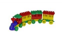 Lokomotywa z 3 wagonami