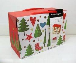 Pudełko świąteczne średnie mix wzorów