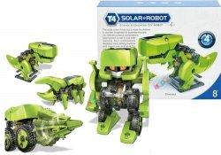 Robot solarny 4w1 Baterie słoneczne Dinozaur