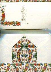 Papeteria Wallet 6 kopert i 6 papierów listowych DRB 001W