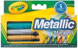 Markery metaliczne Crayola 5 kolorów