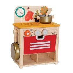 Drewniany zestaw kuchnia