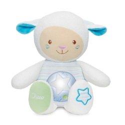 Owieczka z projektorem niebieska