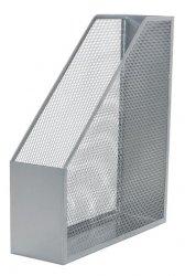 Pojemnik na dokumenty Q-Connect A4 metalowy srebrny