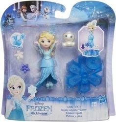 Disney Frozen Mini laleczka Elsa na łyżwach
