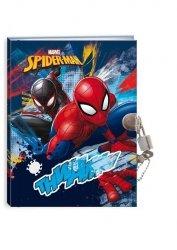 Pamiętnik z kłódką Spider-Man