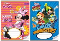 Zeszyt A5 Minnie&Mickey w trzy linie 16 kartek linia dwukolorowa 10 sztuk mix