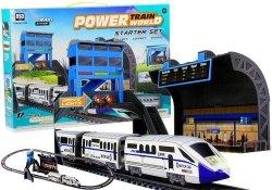 Kolejka na baterie 244cm + Dworzec 2 wagony