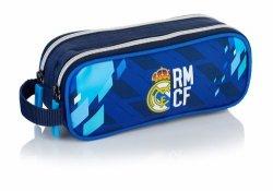 Saszetka- piórnik na dwa zamki RM-128 FC Real Madrid