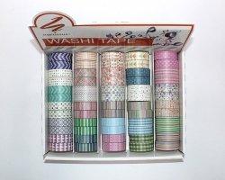 Washi Tape Narcissus mix 60 sztuk