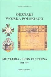 Odznaki Wojska Polskiego 1921-1939 Artyleria - Broń Pancerna