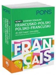 Nowy słownik szkolny francusko-polski polsko-francuski
