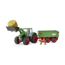Farm World Traktor z przyczepą