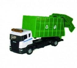 Teama Śmieciarka Scania zielona 1:48
