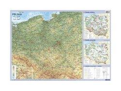 Plansza edukacyjna Polska 1:500 000