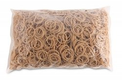 Gumki recepturki średnica 25mm 1000g zgrzewka