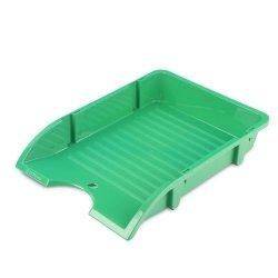 Szufladka na biurko niełamliwa PP A4 zielona