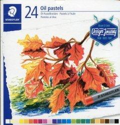 Pastele olejne Karat 11mm 24 kolorów