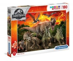 Puzzle 180 Supercolor Jurassic World