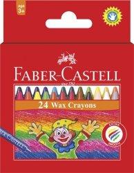 Kredki woskowe Faber-Castell 24 kolory