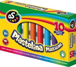 Plastelina AS 10 kolorów