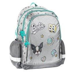 Plecak szkolny Barbie szary