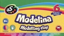 Modelina As 6 kolorów