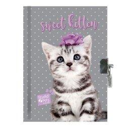Pachnący pamiętnik Studio Pets szaro-fioletowy