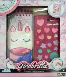 Girabrilla syrenka - notatnik i kosmetyki