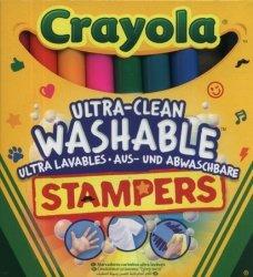 Crayola Flamastry ministempelki 8 kolorów