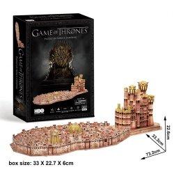 Puzzle 3D Game of Thrones Królewska Przystań