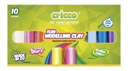Modelina fluorescencyjna Cricco 10 kolorów