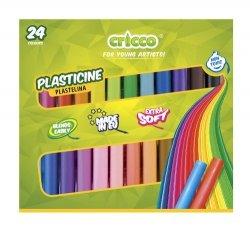 Plastelina Cricco 24 kolory