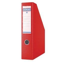 Pojemnik na dokumenty Donau PP A4/75mm czerwony
