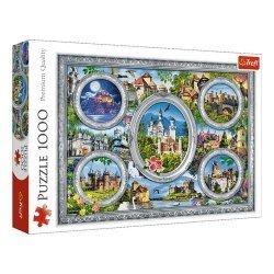 Puzzle Zamki Świata 1000