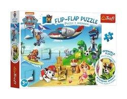 Puzzle z okienkiem Psi Patrol na wakacjach 36