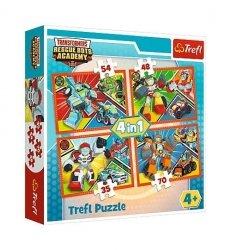 Puzzle 4w1 - Akademia transformersów