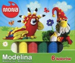 Modelina 6 kolorów