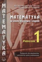 Matematyka w branżowej szkole I stopnia 1 Podręcznik