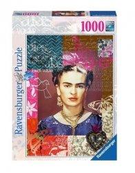 Puzzle Frida Kahlo - Portret  1000