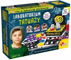 I'm a genius science Laboratorium tatuaży