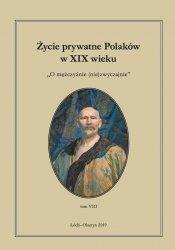 Życie prywatne Polaków w XIX wieku